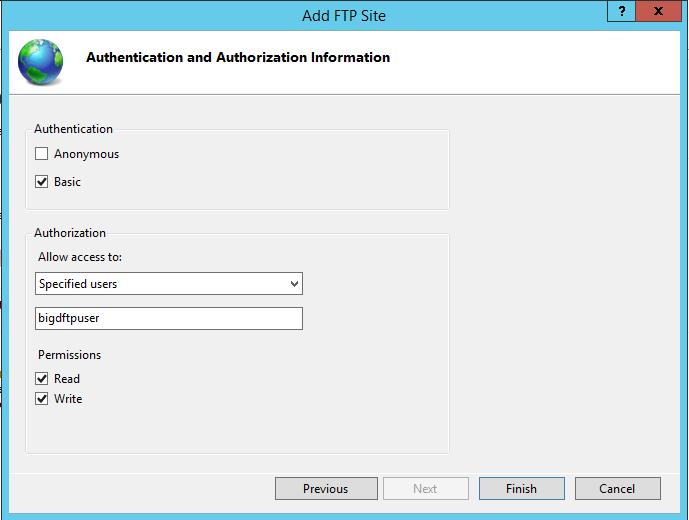 FTP VPS User