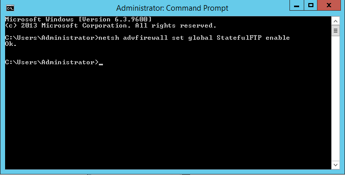 netsh StatefulFTP